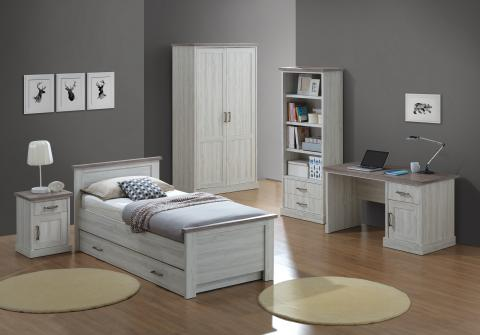 jeugd slaapkamer ella euro deco. Black Bedroom Furniture Sets. Home Design Ideas